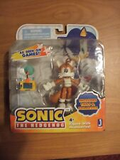 Sonic the Hedgehog Tails & PDA Device Action Figure Jazwares Toy Rare New NIB