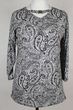 NEW WOMEN  TUNIC BLOUSE size 16/18 TOP  3/4  SLEEVE  LADIES   7962