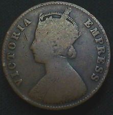 1/4 Anna India - British 1897, Copper Weight 6.4 g Diameter 25 mm