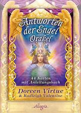 Antworten der Engel-Orakel, Orakelkarten m. Begleitbuch Doreen Virtue