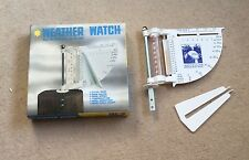 Vintage Australian Geographic Weather Watch- Boxed- Rain Gauge- Wind Direction