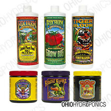 Fox Farm Trio Nutrients 1 Pint & Fox Farm Soluble Trio 3oz Veg-Bloom Nutrients