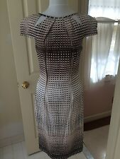 NWOT Lela Rose size 8 cotton sheath dress cap sleeves
