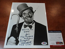 BURGESS MEREDITH - Signed 8x10 Photo to SAM from THE PENQUIN w/ Insc PSA DNA COA