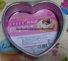 Stainless Heart Leche Flan Baking Pan