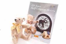 Steiff bears* Cinnamon with Book 125 years steiff Limited Edition 25cm*Ean038860