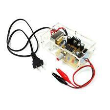 LM317 1.25V-12V Continuously Adjustable Regulated Power Supply Kit 110V(US) 3E2K