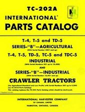 International T-4 T-5 TD-5 TC-5 TDC-5 B Parts Manual IH