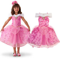 Princess Baby Girls Party Dress Sleeping Beauty Costume Gown Bridesmaid Dresses
