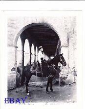 Rudolph Valentino on horse RARE Photo Four Horsemen Of The Apocalypse