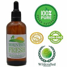 Organic Horsetail Concentrated Max Strength 1:1 50ml Non Alcoholic Tincture