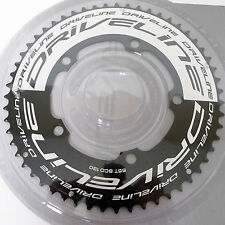 mr-ride DRIVELINE TT Time Trial Chainring 55T BCD 130MM Black/Silver