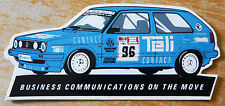 Volkwagen Golf Uniroyal Production Saloon Car Race Motorsport Sticker / Decal