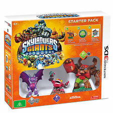 SKYLANDERS GIANTS STARTER PACK - Nintendo 3DS - NEW & SEALED - (PAL) - RARE!