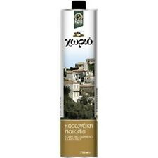 Greek Extra Virgin Olive Oil Minerva Horio Koroneiki Variety 750ml From Mani.