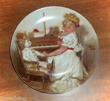 "1981 ""CORA'S RECITAL"" Collector Plate by Richard Zolan"