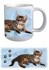 Bengal Cat Design No.2 Ceramic Mug by paws2print