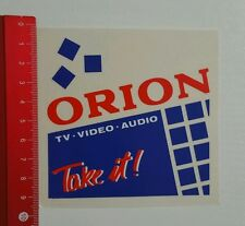 ADESIVI/Sticker: Orion TV AUDIO VIDEO (18061689)