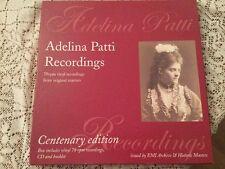 Adelina Patti Centenary Edition Box Set  8 X 78rpm Vinyl Records + Cd Booklet Mn