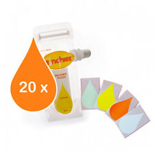 EW Sinchies 20 pack Waterproof Pouch Labels Colour Coded Accessories Stickers