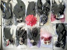 Wholesale Bulk Wedding Races Carnival Fascinator Mixs Clips Pins Brooch 100XPCS