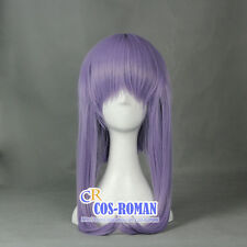 Seraph of the End hiiragi shinoa Cosplay wig costume Purple 366D