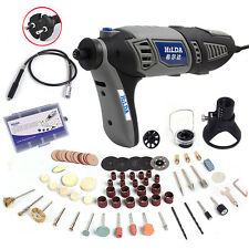 190W Variable Speed Dremel Rotary Tool Electric Mini Drill with Accessories