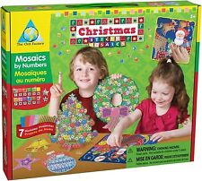 The Orb Factory Sticky Mosaics Christmas Holiday Edition