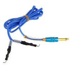 Power Supply Clip Cord for Tattoo Machine Gun 170cm Heavy Duty Blue