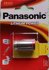 PILA PANASONIC CR123 3V LITIO CAMARA FOTO 123A;DL 123A;EL CR123AP;CR123A BATTERY