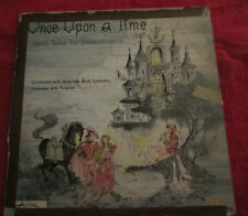Once Upon a Time Fairy Tales for Dramatization Record vintage vinyl