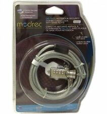 Modrec Delta CL Notebook Security Combo Cable Lock with Base Plate 6Ft