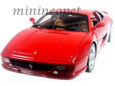 HOT WHEELS BLY57 FERRARI F 355 BERLINETTA COUPE 1/18 DIECAST MODEL CAR RED