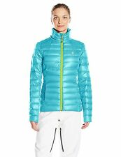 NWT Women's Spyder Prymo Down Puffer Jacket Ski Size Large Free Shipping