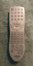 Original Toshiba CT-847 / CT847 TV VCR Remote Control