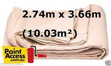 Paint Drop Sheet Oldfields Heavy Duty Painter's Canvas Cloth 9'x12' (2.74x3.66m)