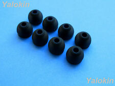 8 pcs Large Comfort Stay (BK) Replacement Eartips buds for Jaybird X2 Headphones