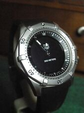TAG Heuer WK111A-0 Multigraph Analog Digital Dual Display 1/100 Chronongraph