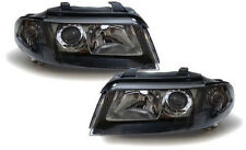 Black finish facelift projector headlights front lights for Audi A4 B5 99-00