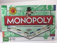 MONOPOLY THE FAST-DEALING PROPERTY TRADING GAME W/SPEED DIE~2008~NEW/SEALED