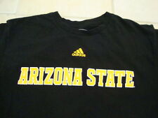 NCAA Arizona State Sun Devils College University Sports Fan Adidas T Shirt L