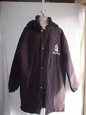 Nautica Women  Coat Purple Size Large Quilted Removable Hooded. Great condition