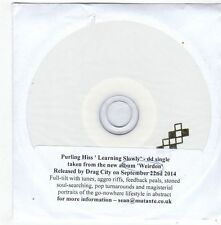 (FG279) Purling Hiss, Learning Slowly - 2014 DJ CD
