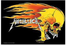 "METALLICA POSTER ""BURNING"""