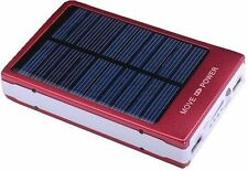 100000mah Solar Power Bank Portable External Battery Charger Dual USB For Mobile