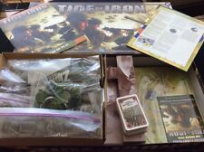 Fantasy Flight Tide of Iron a World War II board game - complete adult owned bag