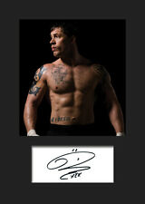 TOM HARDY #3 A5 Signed Mounted Photo Print (Reprint) - FREE DELIVERY