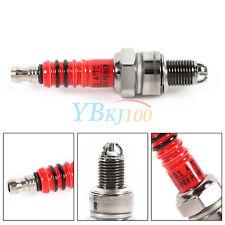 3 Electrode Spark Plug Durable for Scooter ATV Quads GY6 50cc 110cc 125cc 150cc