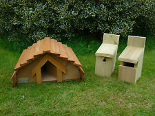 Hedgehog House, Robin & Basic Bird Nesting Boxes *Exclusive to Country Rustics*
