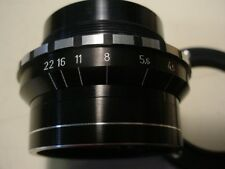 Friedrich Munchen/Rolyn #1390 vintage lens Axinon f 4.5 / 135mm with iris NOS